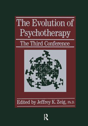 The Evolution Of Psychotherapy: The Third Conference, 1st Edition (Paperback) book cover