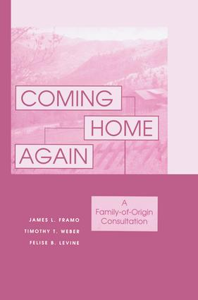 Coming Home Again: A Family-Of-Origin Consultation, 1st Edition (Paperback) book cover