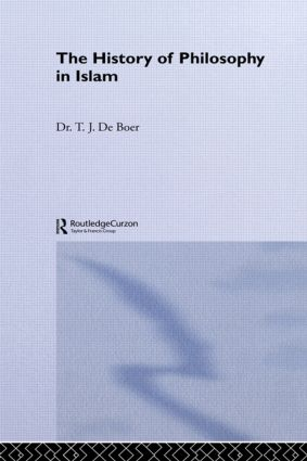 History Of Philosophy In Islam: 1st Edition (Paperback) book cover