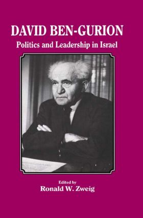 David Ben-Gurion: Politics and Leadership in Israel, 1st Edition (Paperback) book cover