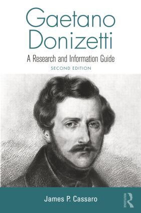 Gaetano Donizetti: A Research and Information Guide book cover
