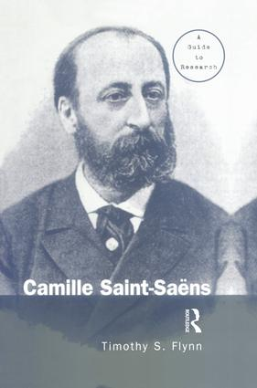Camille Saint-Saens: A Guide to Research book cover