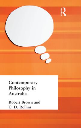 Contemporary Philosophy in Australia: 1st Edition (Paperback) book cover