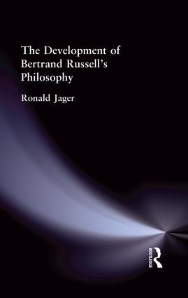 The Development of Bertrand Russell's Philosophy: 1st Edition (Paperback) book cover