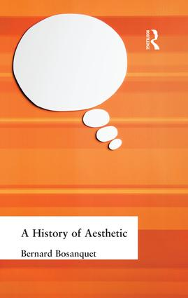 A History of Aesthetic: 1st Edition (Paperback) book cover