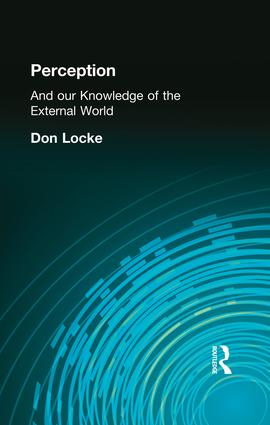 Perception: And our Knowledge of the External World, 1st Edition (Paperback) book cover