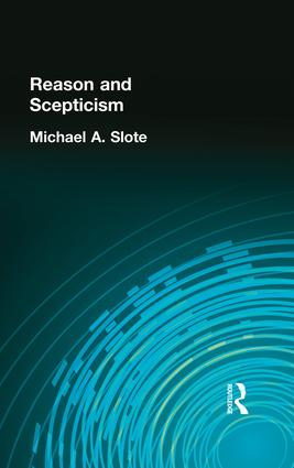 Reason and Scepticism: 1st Edition (Paperback) book cover