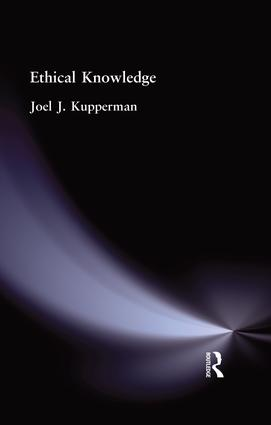 Ethical Knowledge: 1st Edition (Paperback) book cover