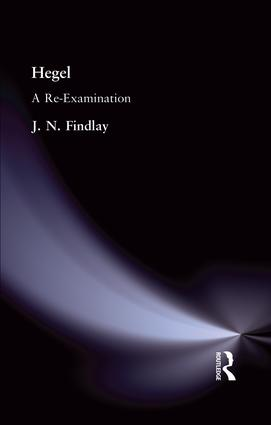 Hegel: A Re-Examination, 1st Edition (Paperback) book cover
