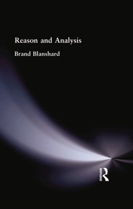 Reason and Analysis: 1st Edition (Paperback) book cover