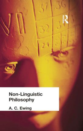 Non-Linguistic Philosophy: 1st Edition (Paperback) book cover