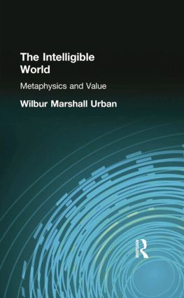The Intelligible World: Metaphysics and Value, 1st Edition (Paperback) book cover