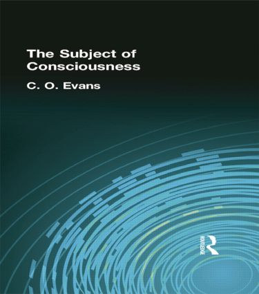 The Subject of Consciousness: 1st Edition (Paperback) book cover