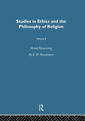 Moral Reasoning Vol 2: 1st Edition (Paperback) book cover