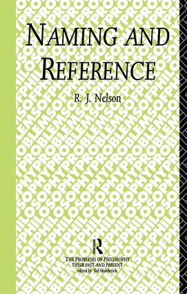 Naming and Reference: The Link of Word to Object (Hardback) book cover
