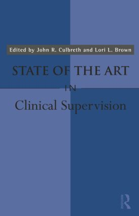 State of the Art in Clinical Supervision book cover