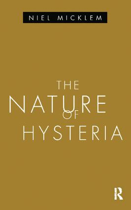 The Nature of Hysteria book cover