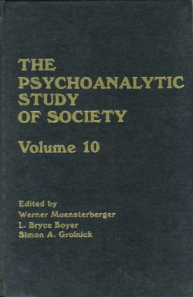 The Psychoanalytic Study of Society, V. 10 book cover