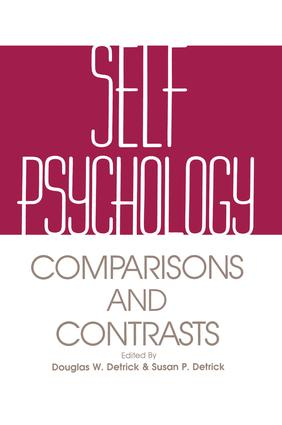 Self Psychology: Comparisons and Contrasts, 1st Edition (Paperback) book cover
