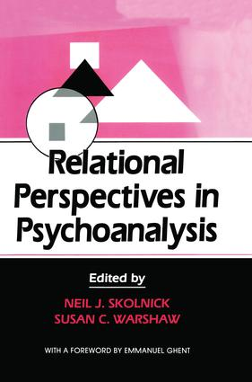 Relational Perspectives in Psychoanalysis: 1st Edition (Paperback) book cover