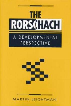 The Rorschach: A Developmental Perspective book cover
