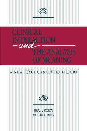 Clinical Interaction and the Analysis of Meaning