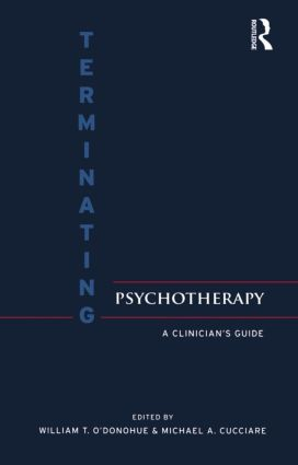 Terminating Psychotherapy: A Clinician's Guide, 1st Edition (Paperback) book cover