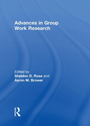Advances in Group Work Research: 1st Edition (e-Book) book cover