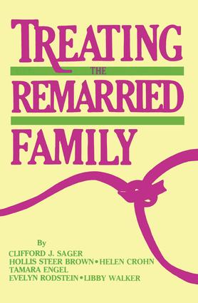 Treating The Remarried Family.......: 1st Edition (Paperback) book cover