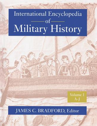 International Encyclopedia of Military History: 1st Edition (Paperback) book cover