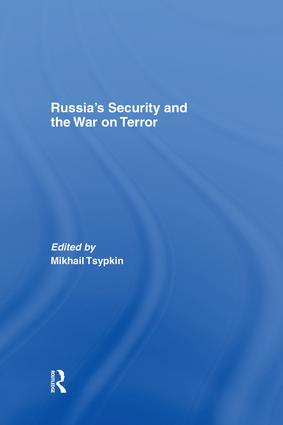 Russia's Security and the War on Terror (Paperback) book cover