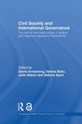 Civil Society and International Governance (Open Access): The Role of Non-State Actors in the EU, Africa, Asia and Middle East book cover