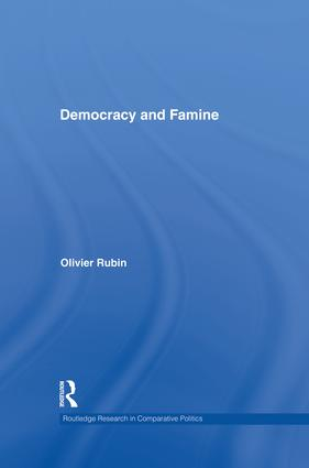 Democracy and Famine (Hardback) book cover
