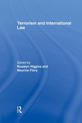 Terrorism and International Law: 1st Edition (Paperback) book cover