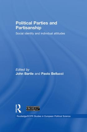 Political Parties and Partisanship: Social identity and individual attitudes, 1st Edition (Paperback) book cover