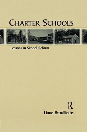 Charter Schools: Lessons in School Reform book cover