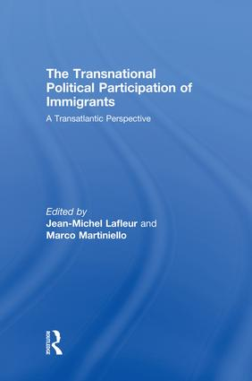 The Transnational Political Participation of Immigrants: A Transatlantic Perspective book cover