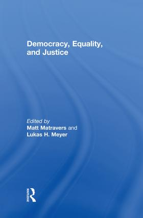 Democracy, Equality, and Justice book cover