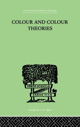 Colour And Colour Theories (e-Book) book cover