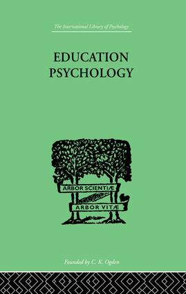 Education Psychology: BRIEFER COURSE, 1st Edition (Paperback) book cover