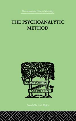 The Psychoanalytic Method