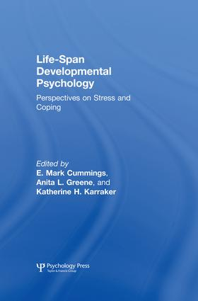 Life-span Developmental Psychology: Perspectives on Stress and Coping, 1st Edition (Paperback) book cover
