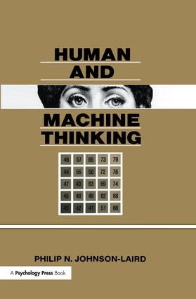 Human and Machine Thinking (Hardback) book cover