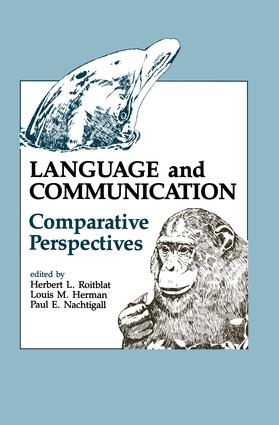 Language and Communication: Comparative Perspectives (Hardback) book cover