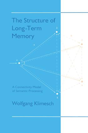 The Structure of Long-term Memory: A Connectivity Model of Semantic Processing, 1st Edition (Paperback) book cover