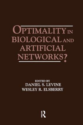 Optimality in Biological and Artificial Networks?: 1st Edition (Paperback) book cover