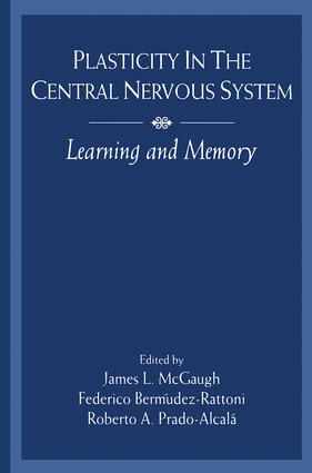 Plasticity in the Central Nervous System: Learning and Memory, 1st Edition (Paperback) book cover