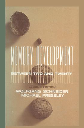 Memory Development Between Two and Twenty: 2nd Edition (Paperback) book cover