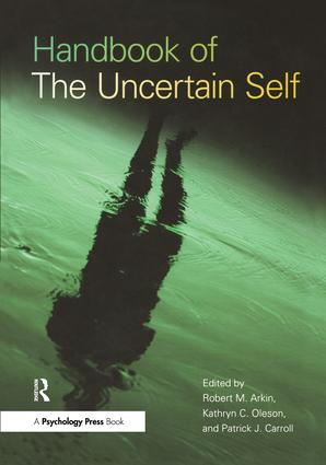 Handbook of the Uncertain Self: 1st Edition (Paperback) book cover