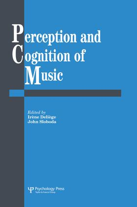 Perception And Cognition Of Music (Hardback) book cover